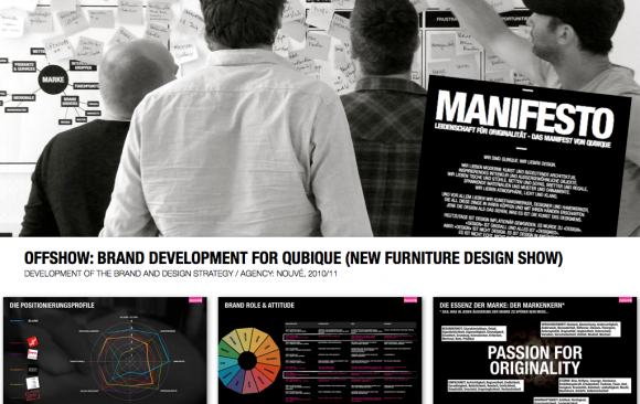 OFFSHOW: BRAND DEVELOPMENT FOR QUBIQUE