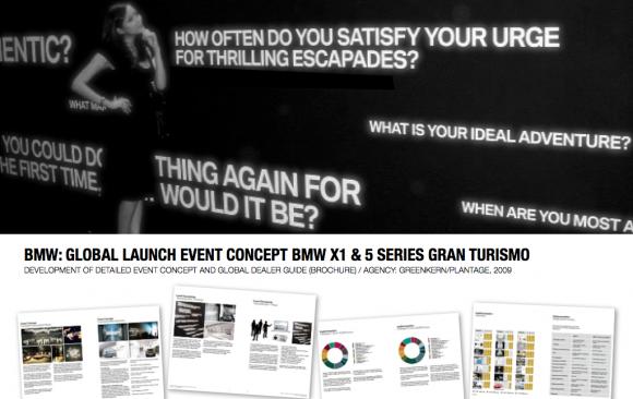 BMW: GLOBAL LAUNCH BMW X1 & 5 SERIES GRAN TURISMO