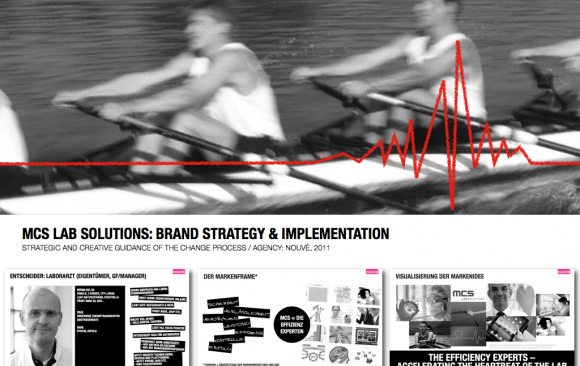 MCS LAB SOLUTIONS: BRAND STRATEGY & IMPLEMENTATION