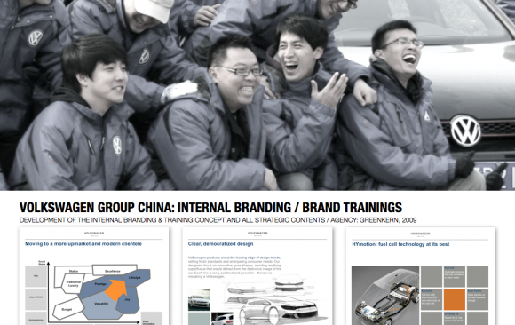 VOLKSWAGEN GROUP CHINA: BRAND TRAININGS