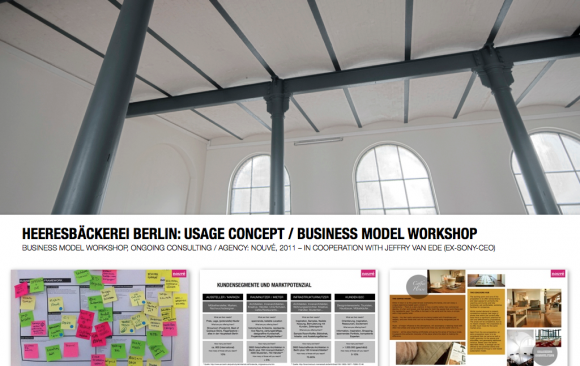 HEERESBÄCKEREI BERLIN: BUSINESS MODEL WORKSHOP