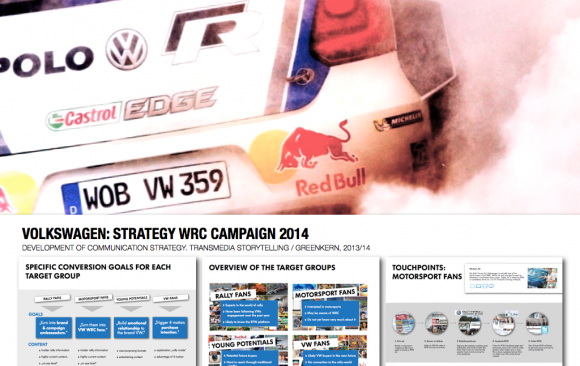 VOLKSWAGEN: STRATEGY WRC CAMPAIGN 2014