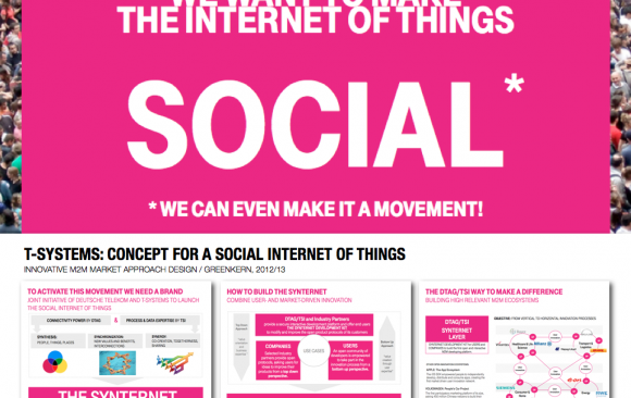 T-SYSTEMS: CONCEPT FOR A SOCIAL INTERNET OF THINGS