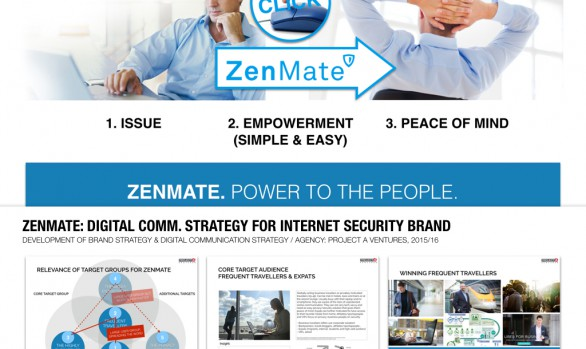 ZENMATE: DIGITAL COMMUNICATION STRATEGY