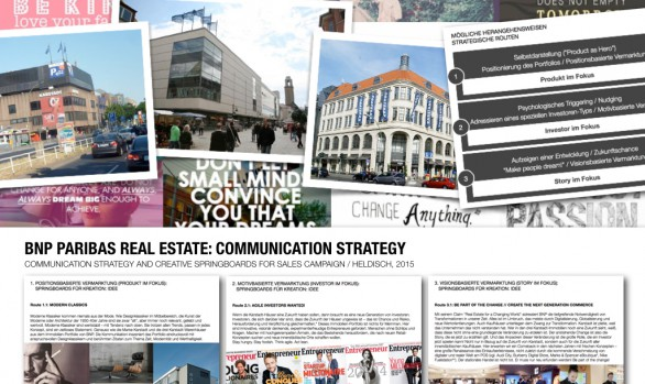 BNP PARIBAS REAL ESTATE: COMMUNICATION STRATEGY