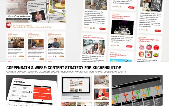 COPPENRATH & WIESE: CONTENT STRATEGY FOR KUCHENKULT.DE