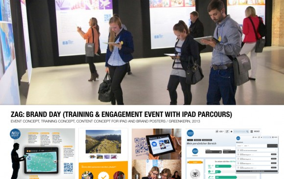 ZAG: BRAND DAY (TRAINING EVENT WITH iPAD PARCOURS)