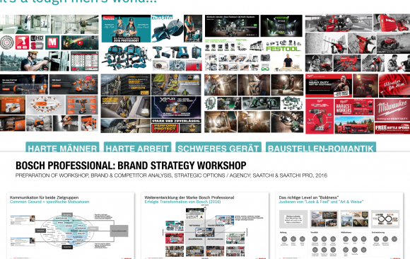 Bosch Professional: Brand Strategy Workshop