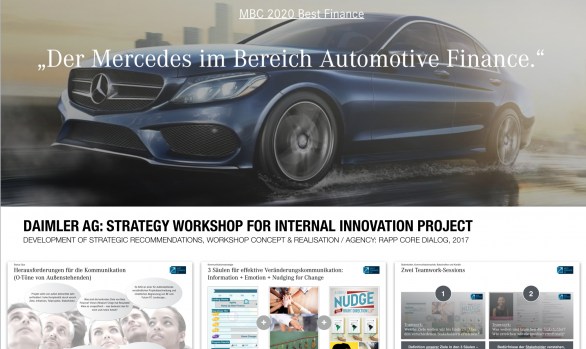 Daimler: Strategy / Innovation Workshop