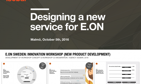 E.ON Sweden: Innovation Workshop