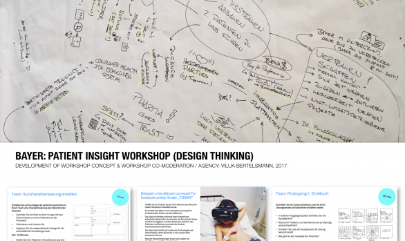 BAYER: PATIENT INSIGHT WORKSHOP (DESIGN THINKING)