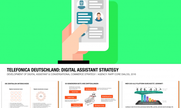 TELEFONICA DEUTSCHLAND: Digital Assistant Strategy