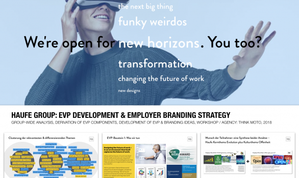 Haufe Group: EVP Development & Employer Branding Strategy