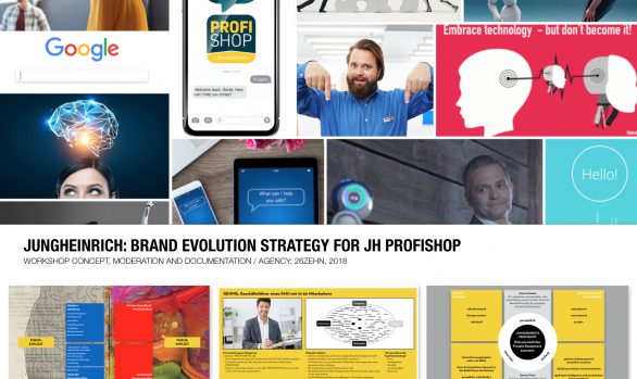 Jungheinrich: brand evolution strategy for JH profishop
