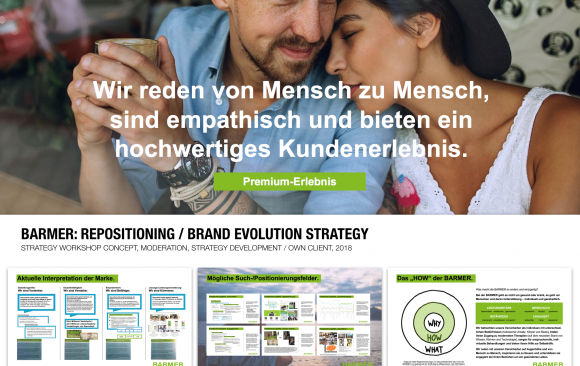 BARMER: REPOSITIONING / BRAND EVOLUTION STRATEGY