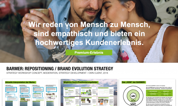 BARMER: REPOSITIONING / BRAND EVOLUTION STRATEGY