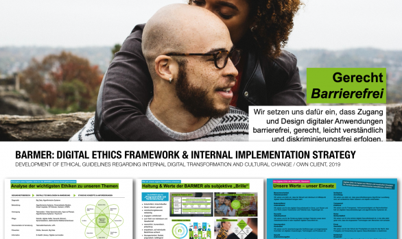 BARMER: DIGITAL ETHICS FRAMEWORK & IMPLEMENTATION CONCEPT