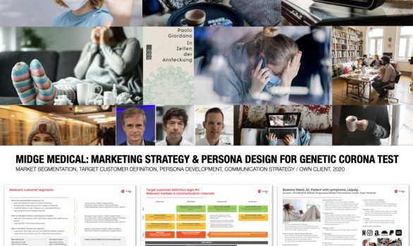 midge medical: marketing strategy & persona design for corona test