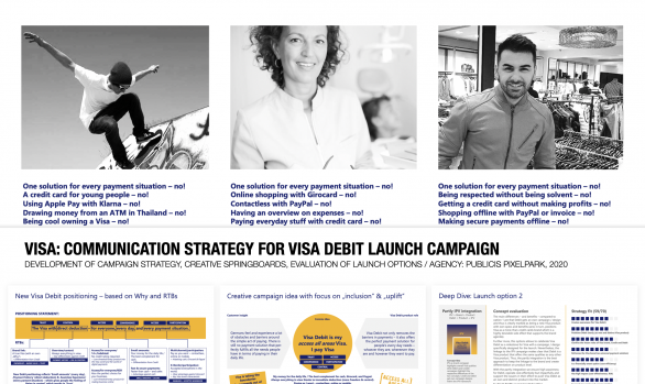 VISA: COMMUNICATION STRATEGY FOR VISA DEBIT LAUNCH CAMPAIGN