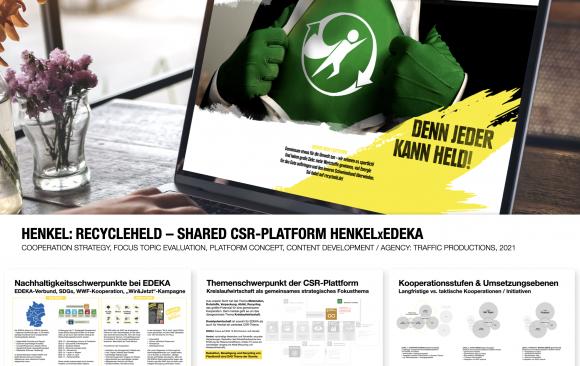 HENKEL: RECYCLEHELD – SHARED CSR-PLATFORM HENKELXEDEKA